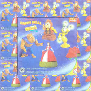 McDonalds-Happy-Meal-Toy-1998-Beauty-amp-The-Beast-Character-Toys-Various
