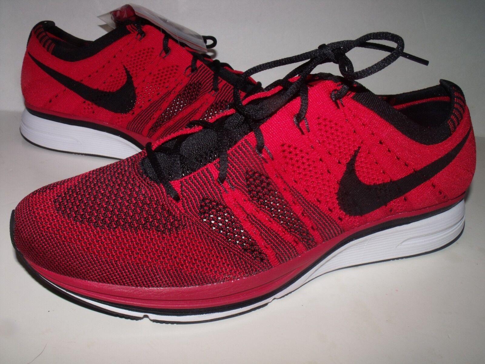 Nike Flyknit Trainer Uomo Casual Training scarpe (rosso nero) NEW NEW NEW Uomo Sz 9.5 00eeeb