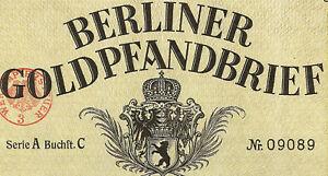 Berliner-Pfandbrief-Amt-Berlin-verschiedene-Gold-Pf-1924-bis-1935-Bank-Anleihe