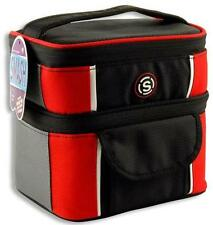 Mens Cube Lunch Bag Two Compartments Work School