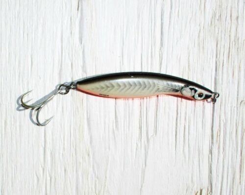 Tobias 7+9 cm rbtb 14+24 grams Salmo Wave Coastal Lures Red B Sea Trout