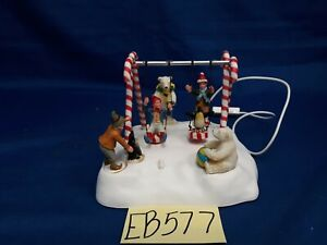 Lemax Village Collection Santa's Swing #74672As Is EB577