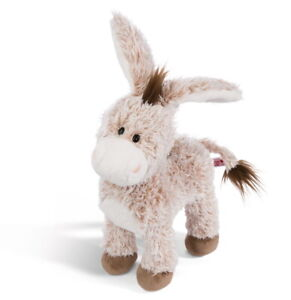 Nici-44937-Esel-stehend-ca-30cm-Pluesch-Kuscheltier-Hello-Spring