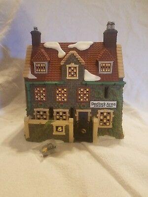 Y426 Dept 56 Dickens Village Dedlock Arms 3rd Edition #57525 NIB
