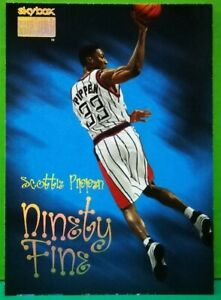 Scottie-Pippen-subset-card-Ninety-Fine-1998-99-Skybox-220