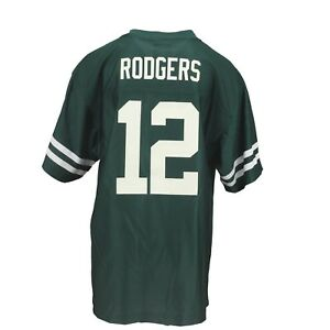 Green Bay Packers Official NFL Apparel Kids Youth Size Aaron Rodgers ... a7894b115