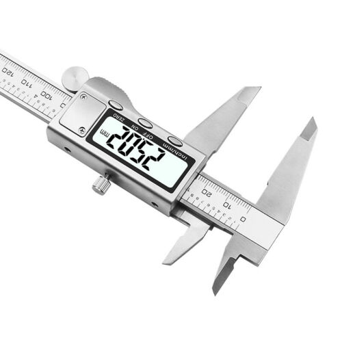 """8/"""" 200mm Digital Caliper Stainless Steel LCD Vernier Shipping with Retail+Box"""