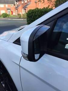 Ford-Focus-Mk2-5-Mk3-2008-2016-Wing-Mirror-Rain-Deflectors-Visor-Smoked-Eyebrows
