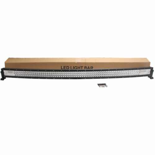 """7D Tri Row 50/"""" 648W Curved LED Light Bar Combo Off-road Truck Ford Philips Light"""