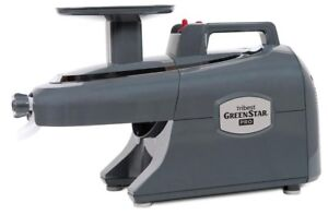 Tribest-Greenstar-Pro-GS-P502-B-commercial-Twin-Gear-Juicer-Gray-fruits-legumes