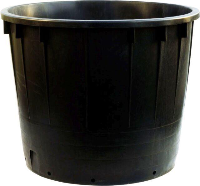 Extra Large Black Plastic 500 Ltr Heavy Duty Garden Pot Tree Planter
