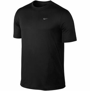 b45fde9bb4ad Details about Men s Nike Challenger Dri-fit Training T-Shirt Black 589683  010 NWT Size 2XL