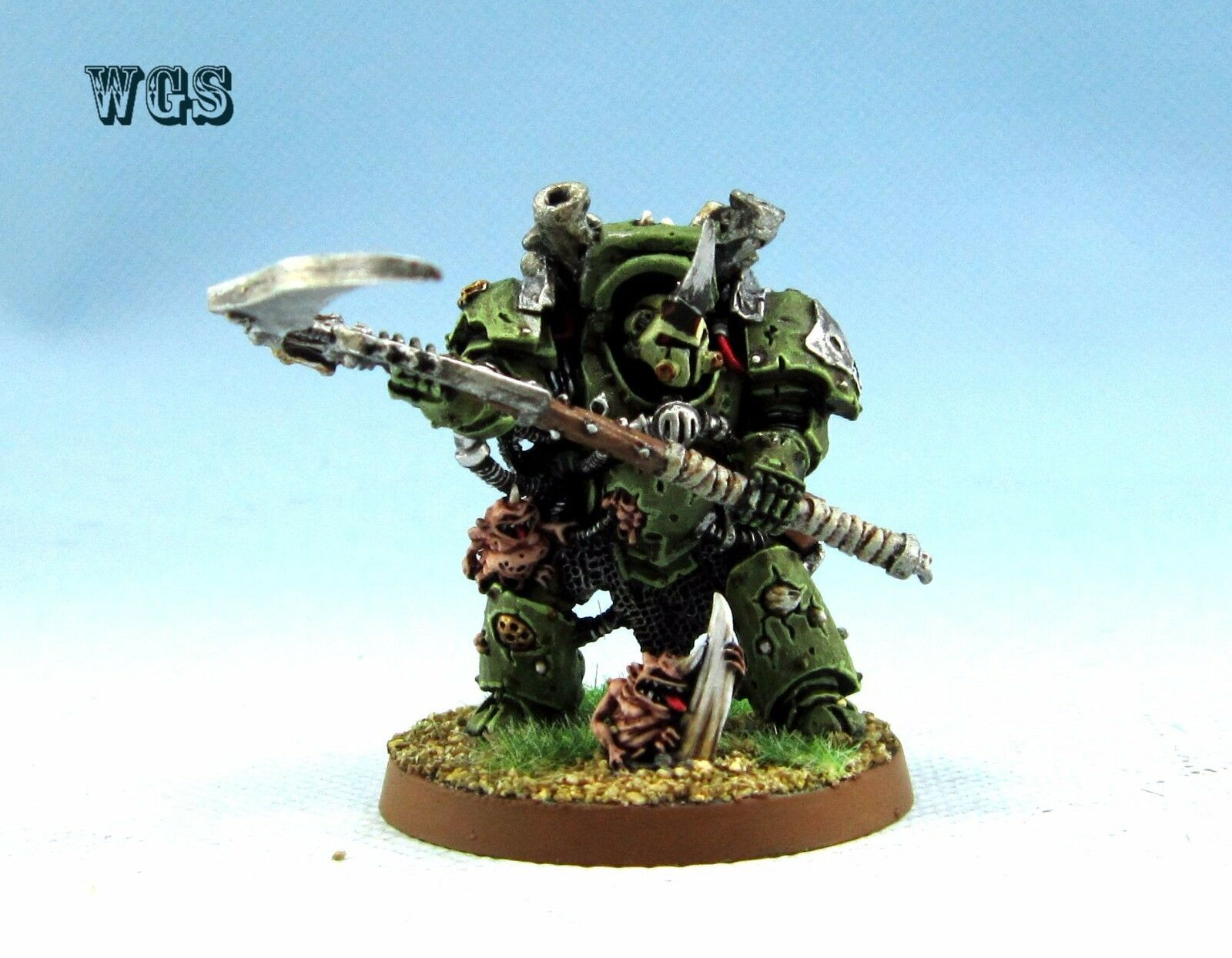 Warhammer 40K WGS Painted Chaos spazio Marines Typhus Herald  of Nurgle CSM036  molto popolare