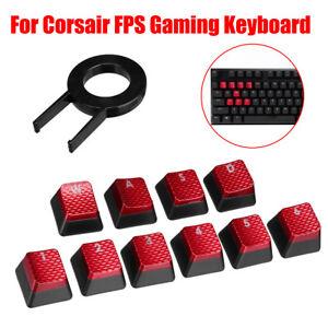 10Pcs-Backlit-Keys-Caps-Set-For-Corsair-FPS-Gaming-Keyboard-MX-Key-Switch-Puller