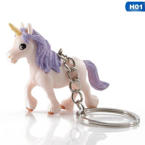 Unicorn  Key Ring Pendant Keychain For Key Cell Phone Car Handbag 1pc# o