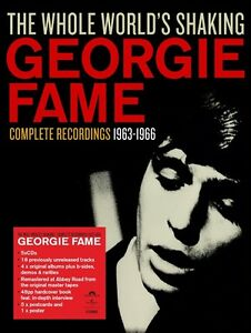 GEORGIE-FAME-The-Whole-World-039-s-Shaking-2015-Super-Deluxe-5-CD-Box-NEW-SEALED
