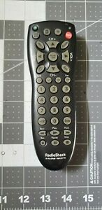 Radio Shack TV CABLE VCR DVD Remote Control Controller 3 in