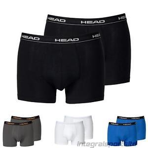 Head-Hombre-Boxers-Para-Atletismo-Deportes-Atleticos-Ropa-Interior-Pack-De-2