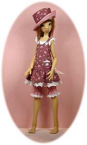 "pants shirt MSD pattern 4 14/"" Kish Kaye Wiggs/' /& slim MSDs  Asian style skirt"