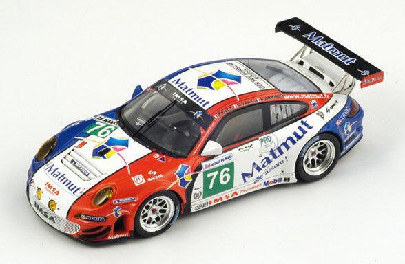 SPARK Porsche 997 GT3 RSR-IMSA Performance Matmut No.76 Le Mans 2011 S3417 1 43