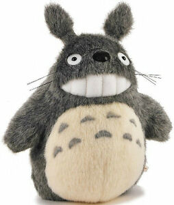 "TOTORO Stuffed Toy New  7"" Japanese Studio Ghibli My Neighbor Smiling Plush Doll"