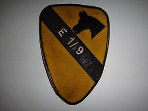 Guerra-Vietnam-Parche-Eeuu-E-Tropas-034-Coche-Cama-034-1st-Squadron-9th-CaballeriaRgt