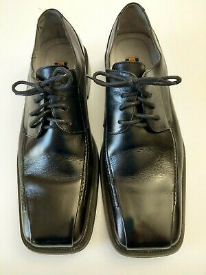 Stacy Adams Mens Black Leather Oxford