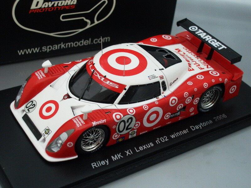 centro comercial de moda 1 43 Spark Riley Mk Xi Lexus    02  target  Ganador Daytona 2006  directo de fábrica