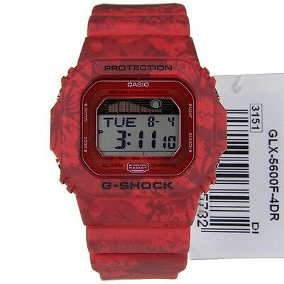 CASIO G-SHOCK G-LIDE MENS WATCH GLX-5600F-4 FREE EXPRESS RED GLX-5600F-4DR