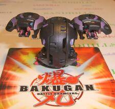 Bakugan Dual Hydranoid Black Darkus B2 540G & cards