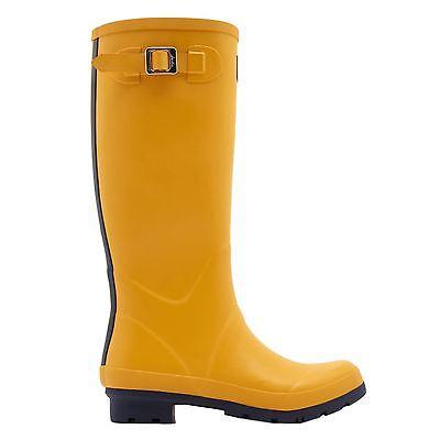 Joules Matt Field Welly Antique Gold Womens Tall Rain Boots