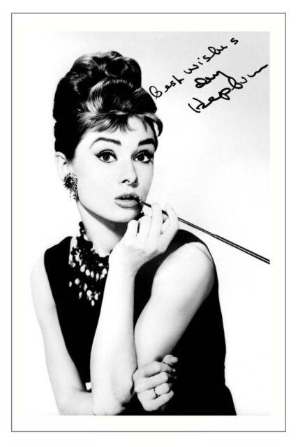 Audrey Hepburn Breakfast at Tiffany\'s Signed Photo Print | eBay