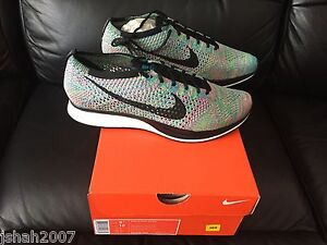 NIKE-FLYKNIT-RACER-RAINBOW-MULTICOLOUR-2-0-SIZE-UK-6-7-11-12-LIMITED-EDITION-NEW