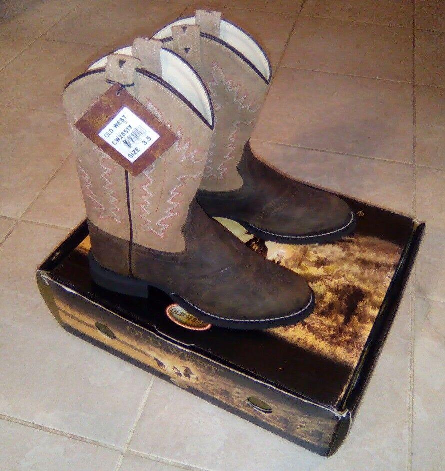 Stivali WesternMONTALA Stivali di OLD WEST  Tg. 35  sale 40% di sconto