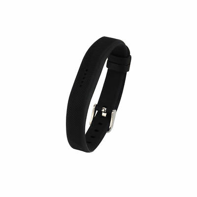 Sport Silicone Wrist Watch Band Strap Classic Buckle For Fitbit Flex 2 Tracker A