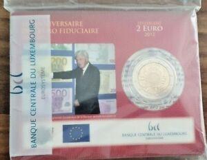 Coincard-mit-2-Euro-Gedenkmuenze-Luxemburg-2012-BU-Euro-Bargeld