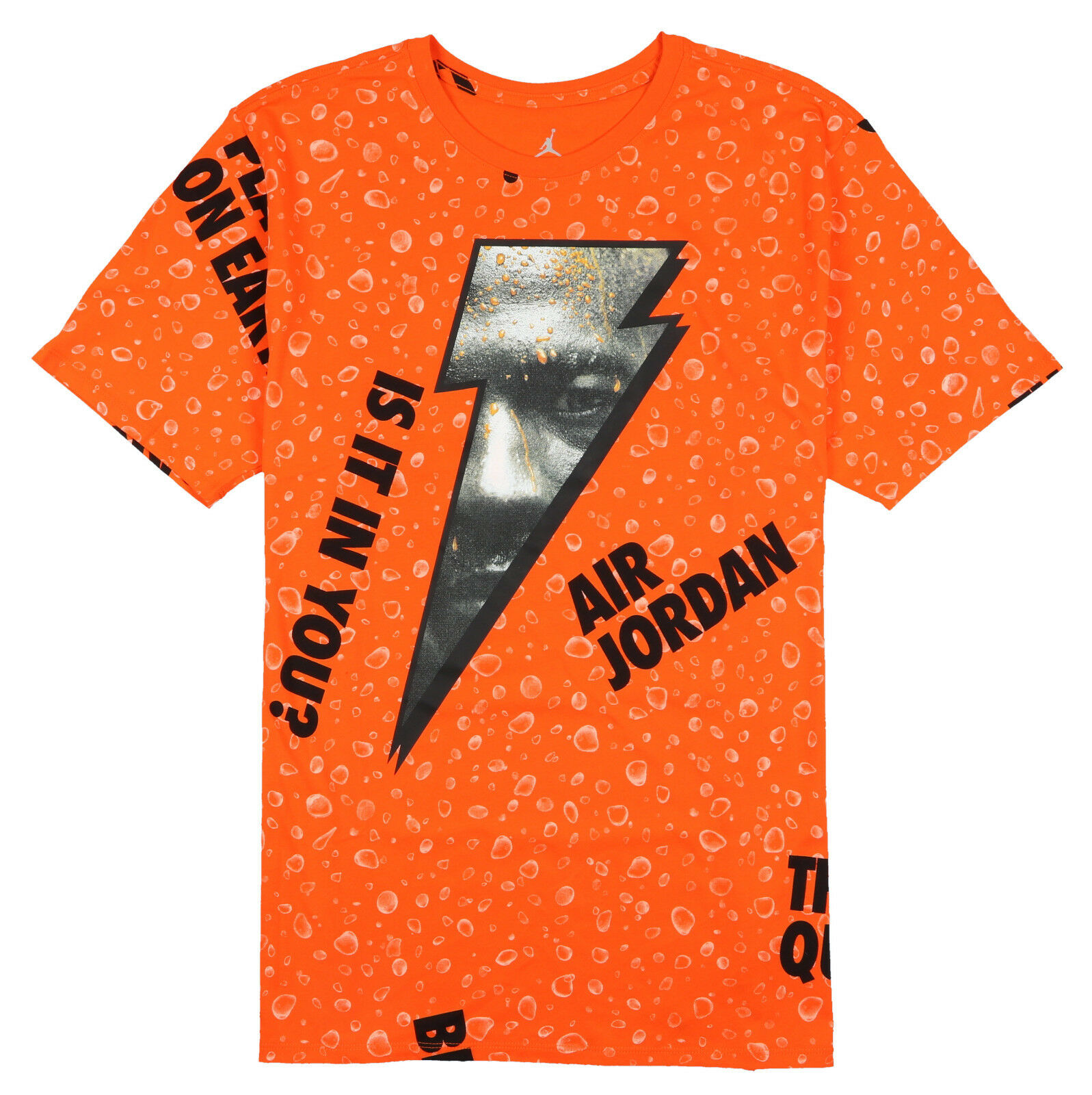 Jordan Retro 1 Be Like Mike Mike Mike Gatorade T-Shirt 3XL Xxx-Large Orange Schwarz Thirst | Viele Stile  2bfa31
