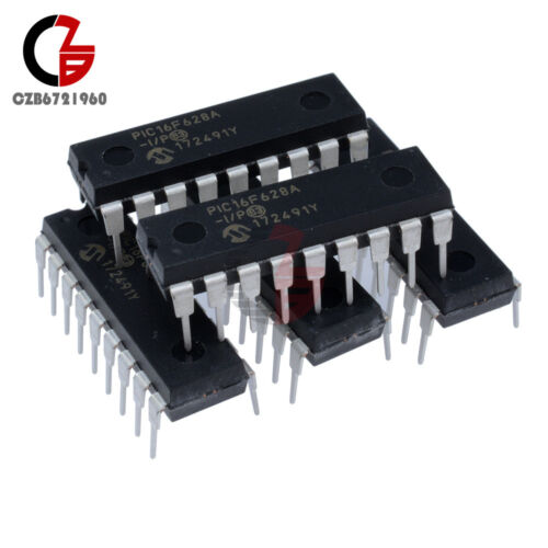 5PCS IC MICROCHIP DIP-18 PIC16F628A PIC16F628A-I//P NEW