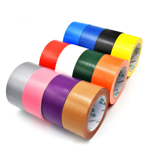 10M*1-10cm Pink Strong Sticky Waterproof Cloth Duct Tape Adhesive Carpet Tape
