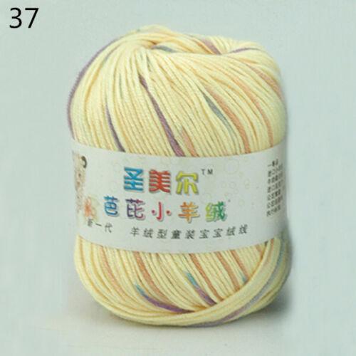 50g Garne Super Weich Kaschmir yarn Baumwolle Baby Stricken Wolle hand Häkeln