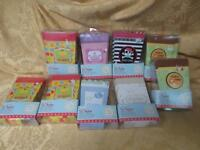 Lot Of 9 Sets Party Favor Boxes Pirate Princess Jungle Baby Celebrate Cupcake