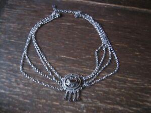 praechtige-Kropfkette-Collie-Biedermeier-Stil-835er-Silber-Granat-Tracht-Dirndl