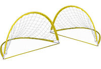 Cage De Football Pop Up Transportable Et Pliable 2 Cages Foot But + Piquets