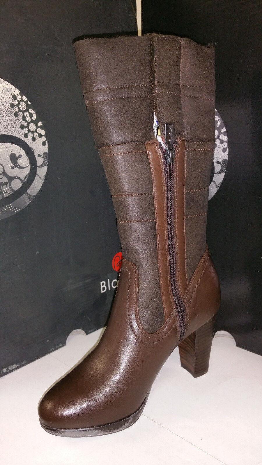 Blondo Women's Phebbe Moka Waterproof Leather Fur Lined Boots size 5-11