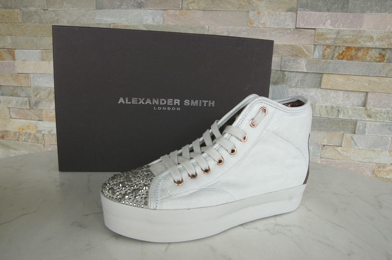 Alexander Alexander Alexander Smith London talla 41 High Top zapatillas tachuelas zapatos nuevo ex. PVP  Centro comercial profesional integrado en línea.