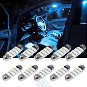 10X-LED-3528-Auto-Licht-Lampen-Birne-Tagfahrlicht-12V-Gluehbirn-Soffitte-Lamp-SMD