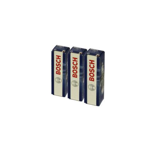 0 242 236 565 3x BOSCH Zündkerze Zuendkerze Nickel Set 3-Zylinder