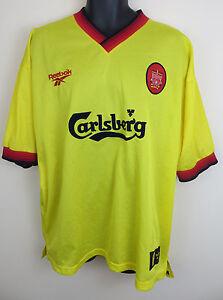 1b9456514 Adidas Liverpool Football Shirt 90s 1997-99 Vtg Vintage Soccer ...