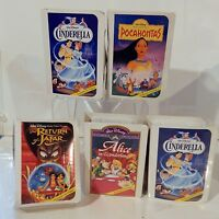 Disney Masterpiece Collection Mcdonalds Happy Meal Toy Lot & Boxes 4of5 Sealed