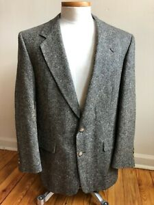 Vtg Austin Reed 42r Tweed 2 Button Blazer Suit Jacket Ebay